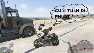 GTA 5 - Đi phượt và Náo loạn với Siêu môtô Kawasaki Ninja H2R