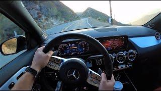 [WR Magazine] 2021 Mercedes AMG GLA45 4Matic+ - POV Test Drive (Binaural Audio)
