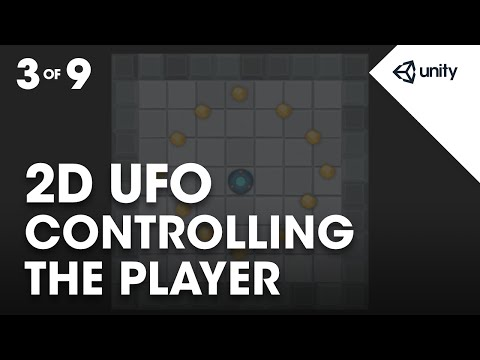 Controlling the Player - Unity