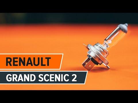 Wie RENAULT GRAND SCENIC 2 Nebelscheinwerfer wechseln TUTORIAL   AUTODOC
