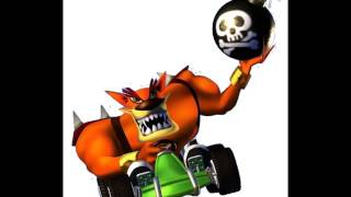 CTR Tiny Tiger voice/taunts/quotes lines from Crash Team Racing
