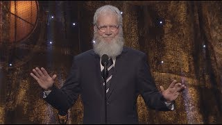David Letterman Inducts Pearl Jam into the Rock & Roll Hall of Fame