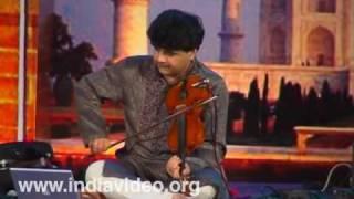 Fusion music by Ganesh and Kumaresh at Nishagandhi- I