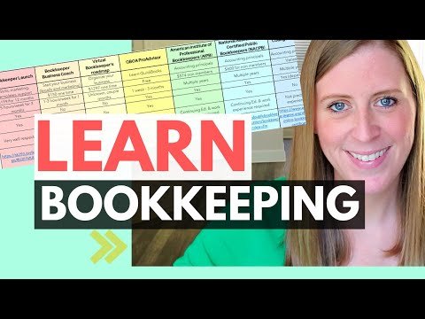 8 ways to LEARN BOOKKEEPING! Certified bookkeeper (with free ...