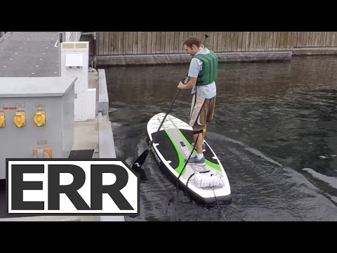 Current Drives ElectraFin Electric Stand Up Paddle Board (SUP) Video Review