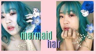 My Mermaid Hair // Nalu Hair Salon Ft - Orangetummy | Euodias