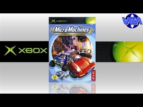 micro machines xbox iso