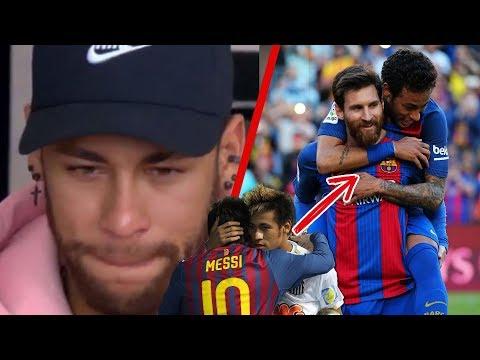 Con LÁGRIMAS en los ojos, Neymar CONFIESA lo que Messi hizo por el en el Barça