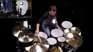 DRUM SOLO: Ride Cymbal Groove Improvisation - Music City USA & Allaire SDX Libraries