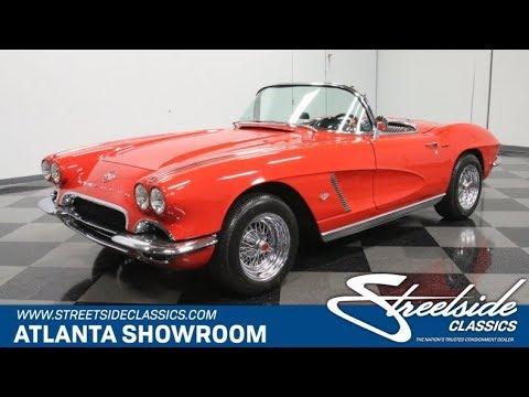 Video of '62 Corvette Offered by Streetside Classics - Atlanta - Q72N