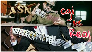 CGI V/s real | ASN | card scene | cardistry || All Adda ||