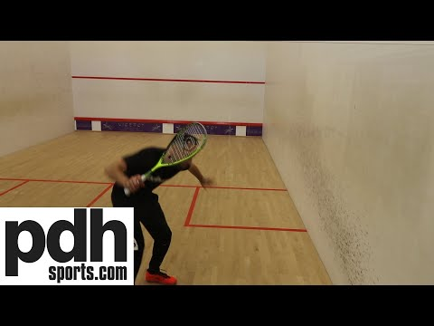 Dunlop Force Revelation 125 squash racket review by PDHSports.com