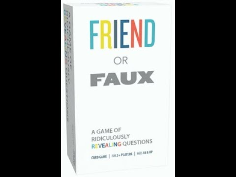 Bower's Game Corner: Friend or Faux Review