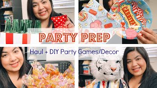 Toddler Party Prep || Carnival Birthday Party Ideas || DIY Party Decor || Riaa Isabel