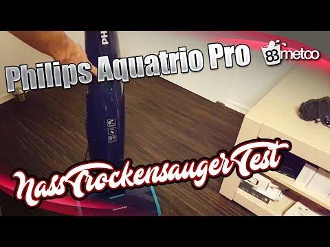 Philips Aquatrio Pro FC7080 Nass  Trockensauger Test