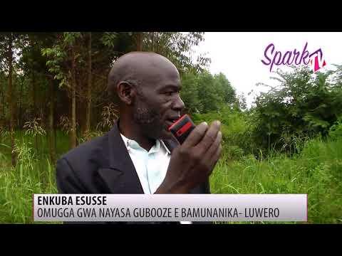 Omugga Nayasa e Luweero gwasaze neguziba ekkubo