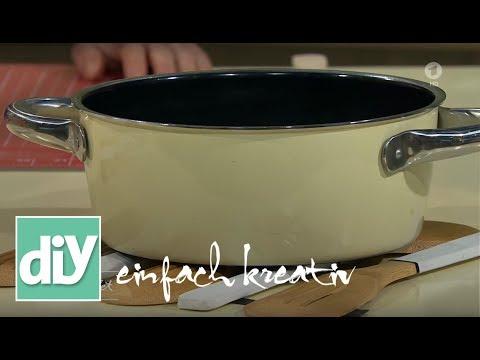 Topfuntersetzer aus Holzkochlöffeln | DIY einfach kreativ