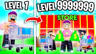 Can We Build a MAX LEVEL STORE In ROBLOX?! (LEVEL 999,999 STORE TYCOON!)