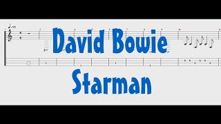 David Bowie   Starman [Bass Tab]
