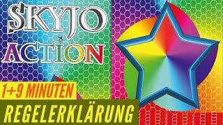 Skyjo Action - Regeln - Anleitung - Aufbau - Regelerklärung
