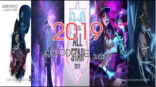 HITS OF 2019 | Year - End Mashup [+100 Songs] (T10MO)+Season 2019 Cinematic - League of Legends