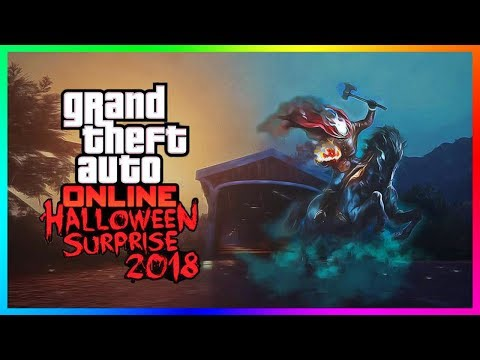 GTA Online Halloween Surprise 2018 Update - Rockstar's Plans, NEW Vehicle Releasing & MORE! (GTA 5)