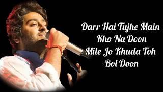 Salamat Lyrics Sarbjit Amaal Mallik Arijit Singh U0026 Tulsi Kumar