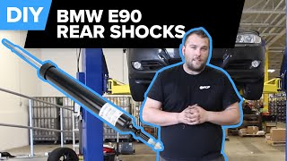 How To Replace BMW E90 Rear Shock (Sachs) FCP Euro