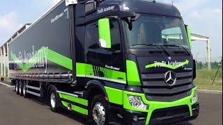 NEW MERCEDES-BENZ ACTROS AUTONOMOUS DRIVING 2015 - FIRST TEST DRIVE
