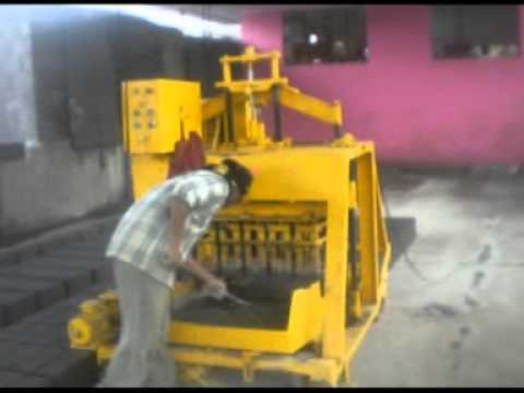 Mild Steel Concrete Block Making Machine