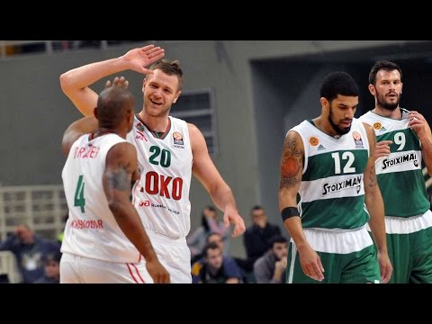 Highlights: RS Round 6, Panathinaikos Athens 71-77 Lokomotiv Kuban Krasnodar