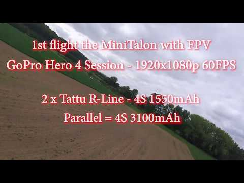 xuav-mini-talon-fpv--4s-chasing-ar-wing--crash