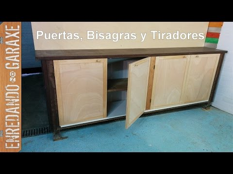 Puertas para armario de taller, parte 2