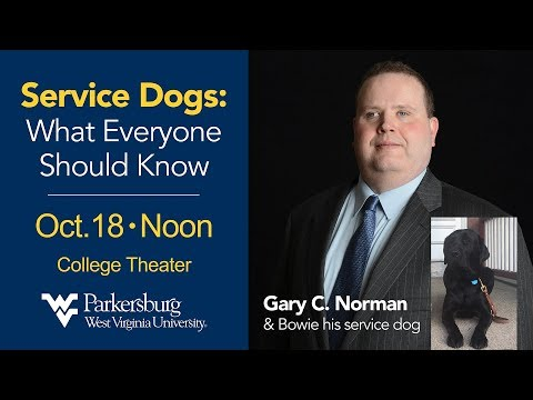 """Service Dogs: What Everyone Should Know"" by Gary Norman"