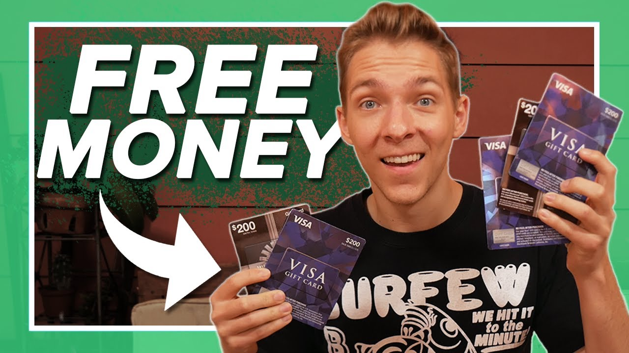 My Charge Card PAID ME to Purchase $1,000 of Visa Present Cards thumbnail