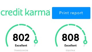 How To Get Your FREE Credit Report From Credit Karma