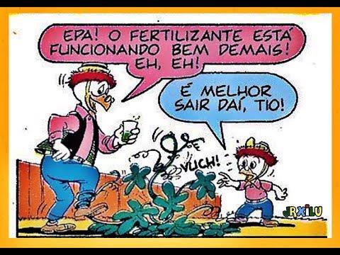 Professor Pardal - O Superfertilizante - gibis quadrinhos Disney