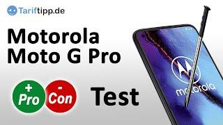 Motorola Moto G Pro | Test des neuen Mittelklasse-Handys mit Stifte-Funktion.