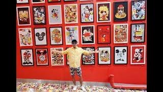 Mickey Mouse Arthouse   90 Artist   90 Original Art   Melbourne Central