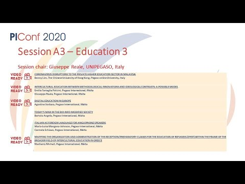 Session A3- Education 3
