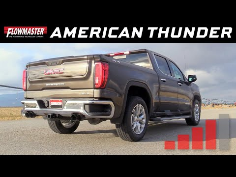 2019 GM Silverado/Sierra 1500 6.2L - American Thunder Cat-back Exhaust 817891