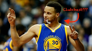 IS CURRY THE CLUTCHEST PLAYER EVER???
