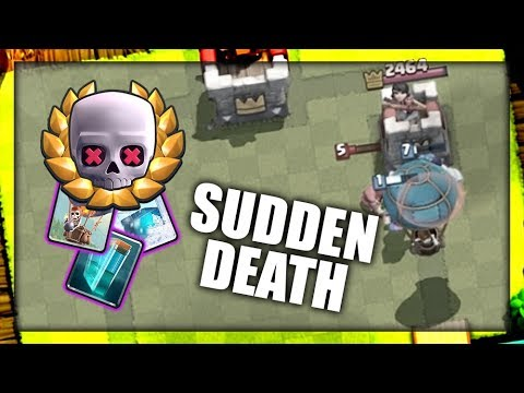 EXTRÉMNĚ OP BALLOON DECK! | Sudden Death Challenge | Clash Royale
