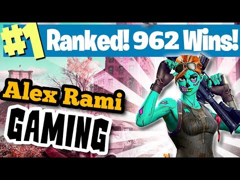 #1 WORLD RANKED - 992 WINS! - SPONSOR GOAL 487/500 - FORTNITE BATTLE ROYALE LIVE STREAM!