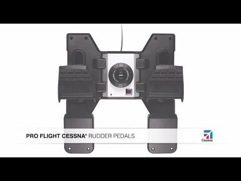 Видео № 0 из игры Saitek Pro Flight Cessna Rudder Pedals педали управления