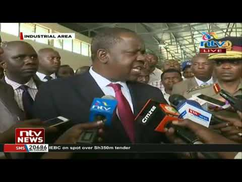 CS Matiang'i: We will not relent on the traffic laws