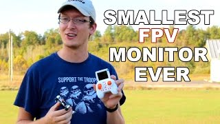World's Smallest FPV Screen For A Drone - MJX X906T Review - TheRcSaylors