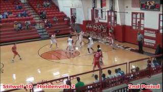 2016-17 Stilwell Indians vs Holdenville Wolverines Boys Basketball