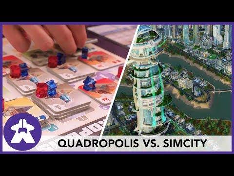 Quadropolis vs. SimCity (Going Analog: Episode 6)