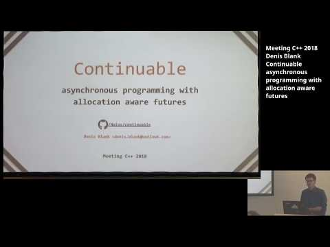 Continuable MeetingC++
